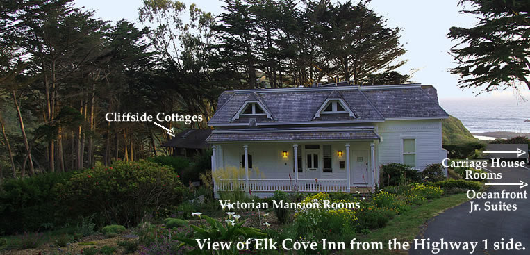 elk cove inn room location