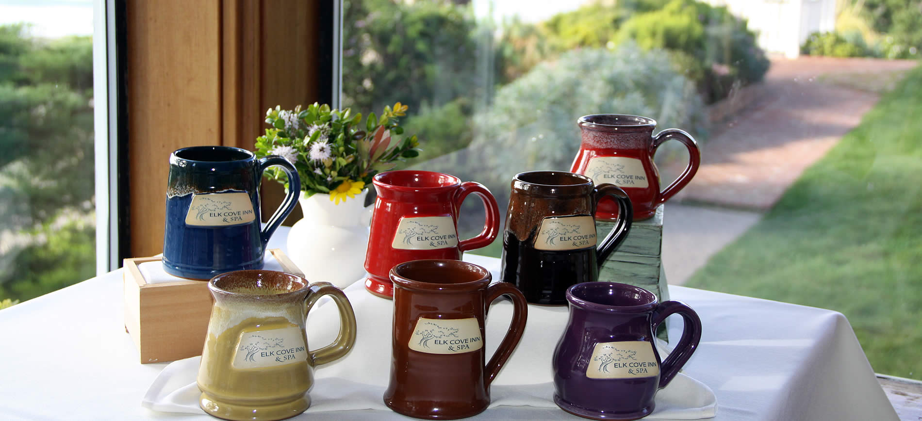 elk cove inn gift shop - mugs