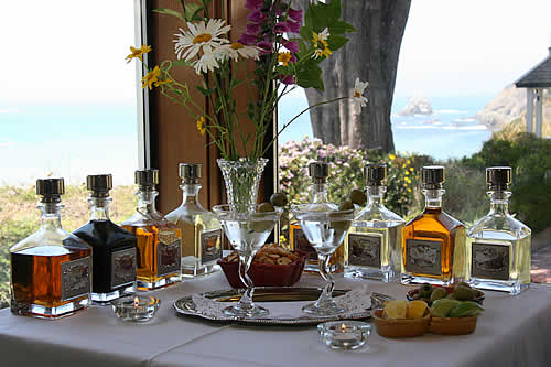 mendocino coast lodging - elk cove inn happy hour