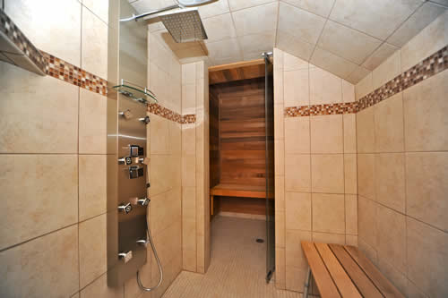 elk cove inn spa services shower and sauna