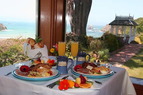 mendocino coast lodging - elk cove inn breakfast