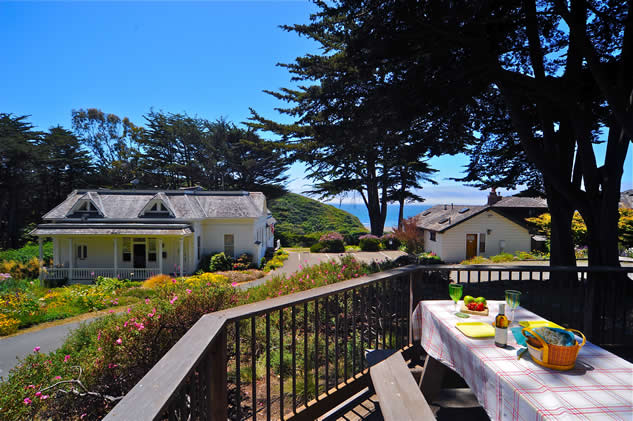 northern california coast oceanfront lodging