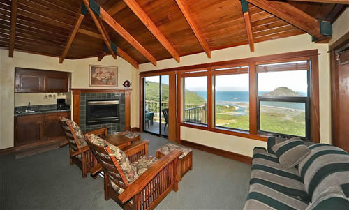 elk cove inn oceanfront suite on mendocino coast