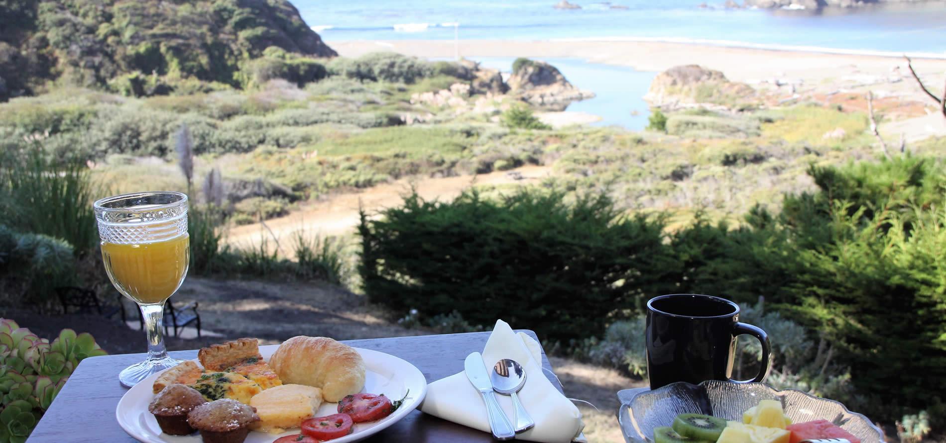 elk cove inn breakfast by the ocean