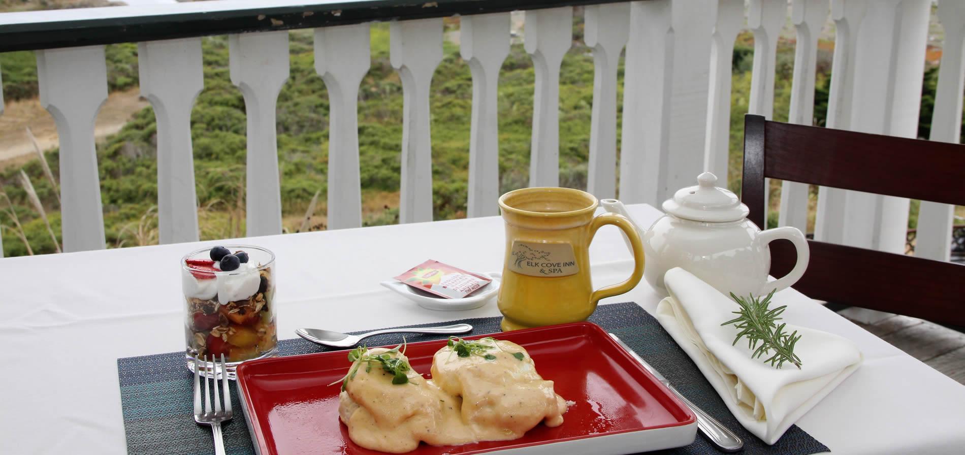 breakfast on the coast