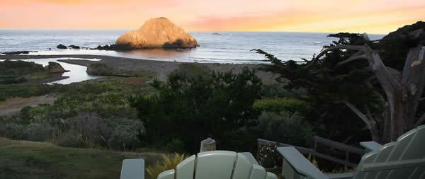 sunrise from elk cove inn