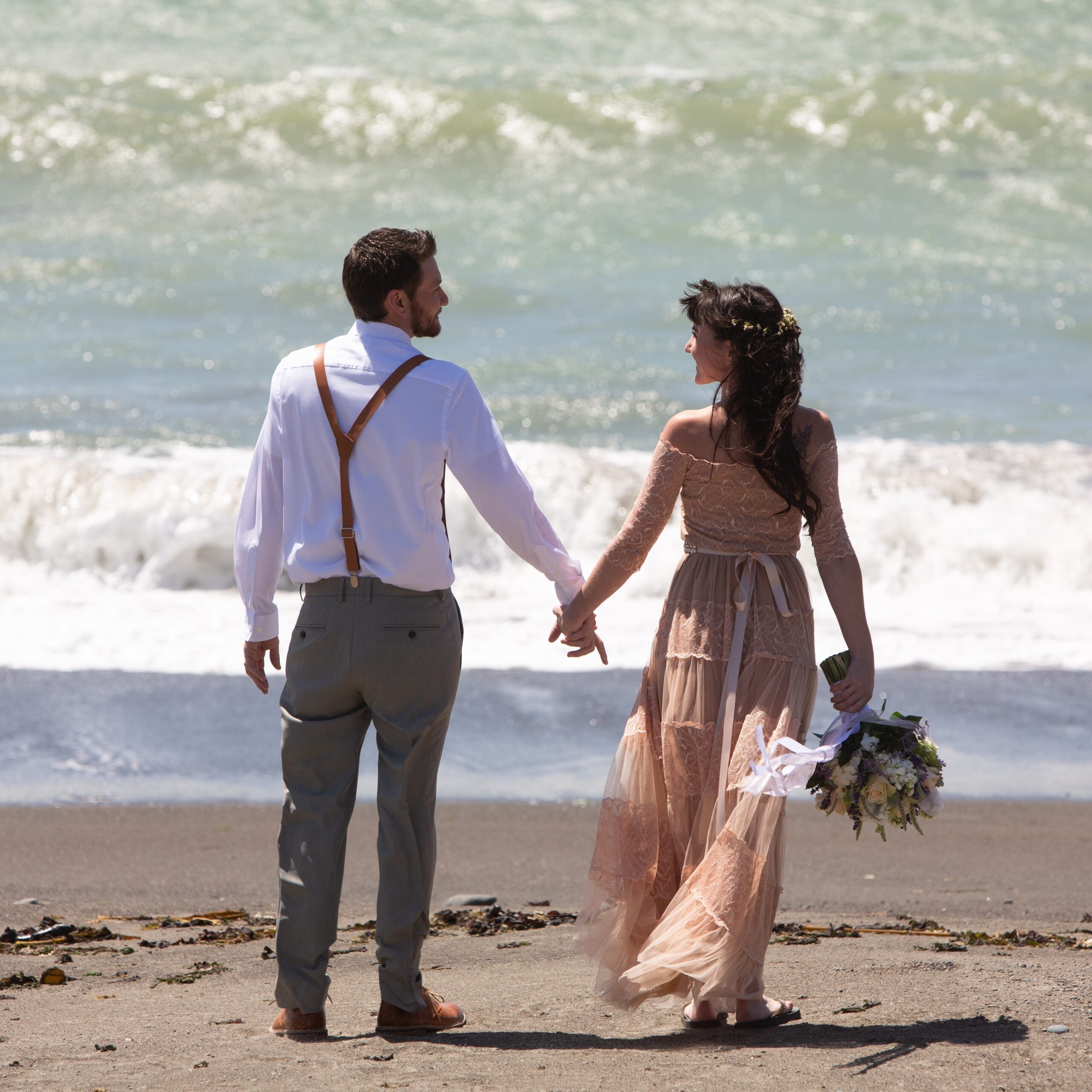 northern california coast weddings romantic photography